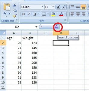 how to draw corelation graph in excel