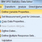 how to enter data into spss