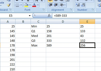 box and whiskers graph in excel 3