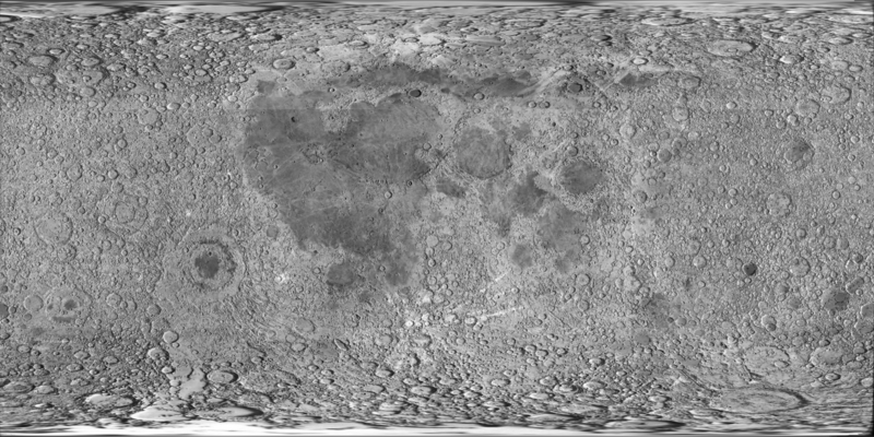 Chebyshev's crater on the moon.