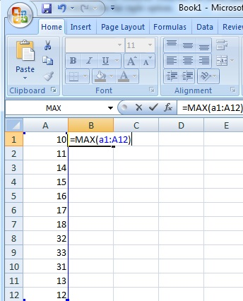 Finding the MAX in a five number summary.