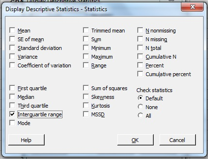 Worksheets Interquartile Range Worksheet interquartile range iqr what it is and how to find minitab d