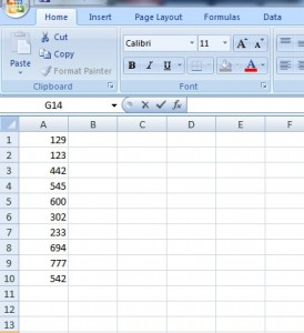 sample variance in excel 2007-2010