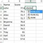 Excel for statistics.