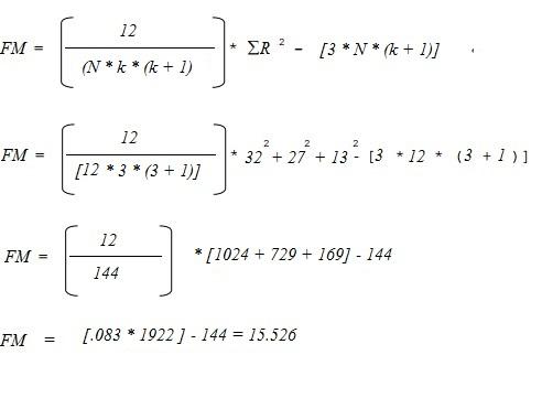 friedman calculations 1