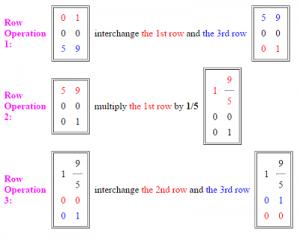 row echelon form 2