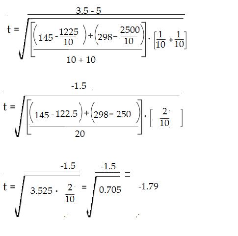 t test formula 2