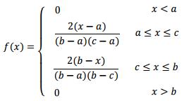 pdf triangular