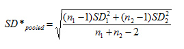 pooled standard deviation-2