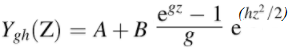 g-and-h distribution