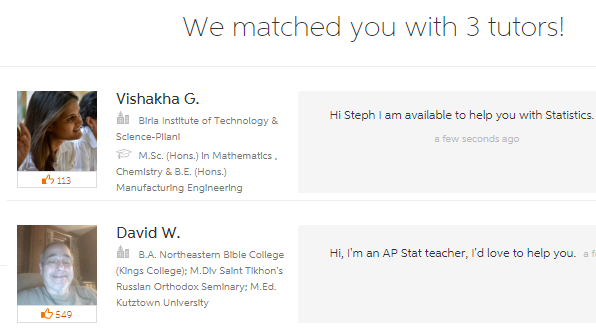 ap stat tutors