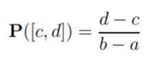 uniform probability measure